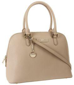 DKNY Saffiano Leather Satchel
