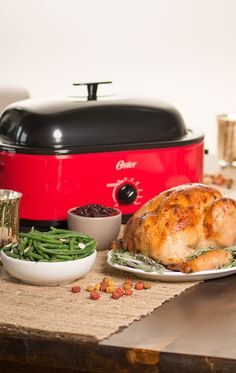 I refuse to do Thanksgiving without an Oster roaster. Seriously is a life saver!