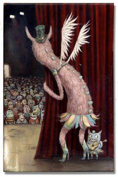 Artist: Mateo Dineen. monster show