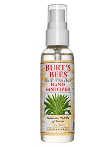 Make your own Burt's Bees Natural Hand Sanitizer -- Follow this recipe and add glycerin.