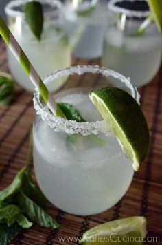 Sparkling Vietnamese Limeade Refreshing Drinkssummer