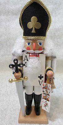 Ace of Clubs German Nutcracker - I love Nutcrackers!