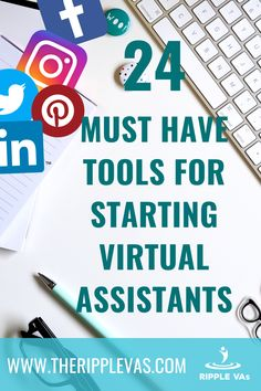 Helping other virtual assistants and sharing what we know about tools to use for starting virtual assistants is part of Ripple's advocacy in serving communities. We present you with a list of selected software, applications, and strategies starting Virtual Assistants can use. These strategies involve a combination of Gsuite tools, market scheduling, managing emails, creating beautiful websites, and graphic editing. Click the link to find out more. New Business Ideas, Business Tips, Business Marketing, Internet Marketing, Media Marketing, Virtual Assistant Jobs, Work From Home Companies, Must Have Tools, Social Media Content