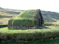 Viking house, Iceland