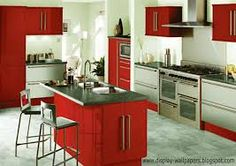 ikea kitchen red - Google Search