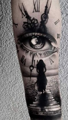 60  Ideas For Eye Tattoo Realistic Style