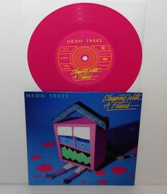"""NEON TREES sleeping with a friend - 2 versions 7"""" PINK VINYL Record Store Day #AlternativeIndie"""