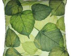 f3ceeca98e9 leaf cushion pillow by GlamFabApronCushion on Etsy Owl Cushion