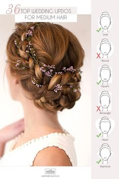 30 Top Wedding Updos For Medium Hair ❤ Wedding updos for medium hair will be one of the best solutions, they always look trendy and romantic. Pick the most appropriate variant from our new list! hair 30 Top Wedding Updos For Medium Hair 27 Piece Hairstyles, Trending Hairstyles, Medium Hairstyles, Scarf Hairstyles, Prom Hairstyles, Easy Hairstyle, Spring Hairstyles, Hair Scarf Styles, Curly Hair Styles