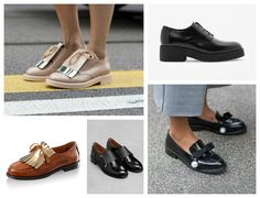 Flat Shoes At Fashion Week: Best Street Style For Spring Summer 2015 | Fashion | Grazia Daily