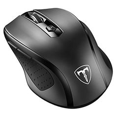 VicTsing MM057 2.4G Wireless Portable Mobile Mouse  Brand Name-VicTsing  Color-Black