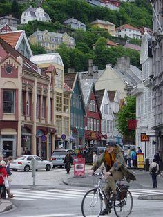 Town of Bergen, Norway