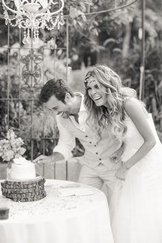 bride & groom cutting cake at maravilla gardens malibu california - shaun and skyla walton photography Nature Inspired Wedding, Malibu California, Love Couple, Plan Your Wedding, Bride Groom, Husband, Wedding Photography, Couple Photos, Couples