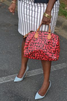 Kenya L Fashion Blog: It's After the 4th, but Red, White and Blue, anyone??
