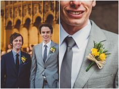 Helen and Anthony's Bright and Fun Homemade Wedding with a Hint of Vintage. By Photos By Zoe