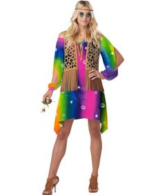 Hippie Chick Womens Costume   1970S