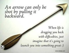 Life is like an Arrow #Quote #Motivational #Inspirational #Life