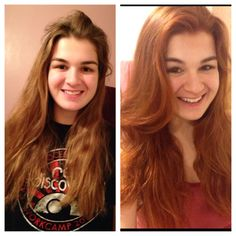 My Henna Hair The First Pic Is Night Before And Second Morning After I Only Had Wred For About 4 Hours Then Showered