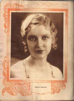 Revista Films Selectos 1933. Miriam Seegar