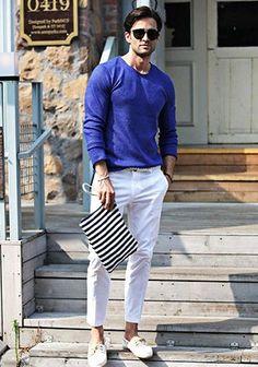 白パンツの着こなし・コーディネート一覧【メンズ】 | Italy Web