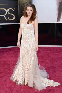 Kristen Stewart , ha elegido un vestido de Reem Acra