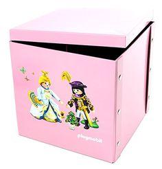 Playmobil – 064603 – Ameublement Et Décoration – Boîte De Jeu Et De Rangement Princesse: L'univers princesses est entierement recréé: le…