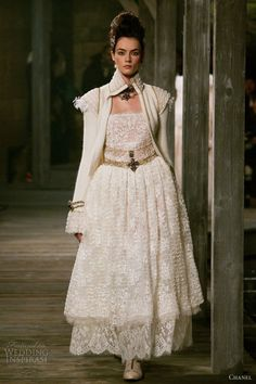 chanel gowns   chanel pre fall winter 2013 2014 lace dress