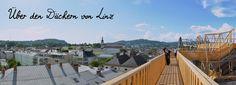 """Ein Städtetrip nach Linz verändert Perspektiven und erfrischt den Geist. Denn die Kulturhauptstadt Europas 2009 ist ein echtes Unikat.  Hier geht's hoch hinaus - Der Höhenrausch mit seiner Mischung aus Dachparcours, Raumerlebnis und sinnlich-spielerischen Kunst-Installationen ist in den letzten fünf Jahren ein Markenzeichen für das oberösterreichische Kulturquartier geworden. 2 o. 3 Nächte im 4* Hotel mit """"Höhenrausch 2014""""."""