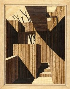 The Art of Marquetry Building Drawing, Technical Drawing, Drawing Techniques, Line Drawing, Exterior Design, Pencil Drawings, Texture, Wood, Projects