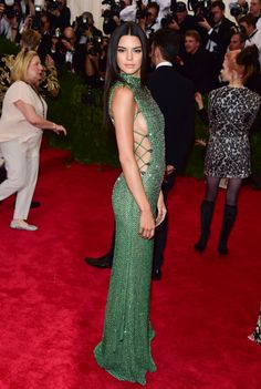 In Calvin Klein at the 2015 Met Gala.   - ELLE.com