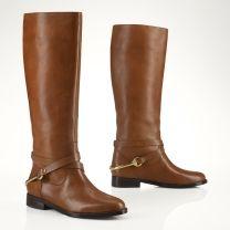 Ralph Lauren Equestrian Riding Boot