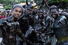 A Travel Guide to Jab Jab in Grenada - Caribbean Traditional Mas