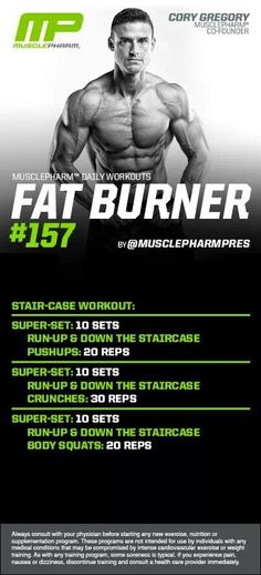 MusclePharm Fat Burner #157