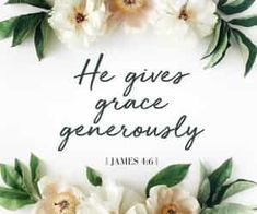 "James he gives us more grace. That is why Scripture says: ""God opposes the proud but shows favor to the humble. Bible Verses Quotes, Encouragement Quotes, Bible Scriptures, Faith Quotes, Godly Quotes, Scripture Cards, Christian Life, Christian Quotes, Christian Living"