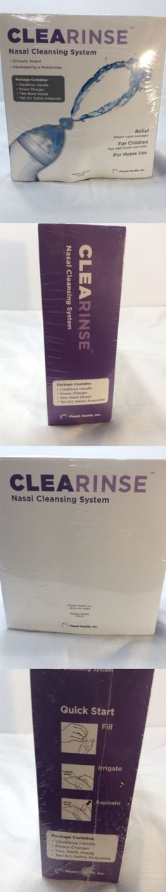 Neti Pots and Cleansers: Clearinse Nasal Cleansing System Brand New Sealed Box!! BUY IT NOW ONLY: $45.0