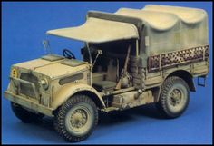 Missing Links Gallery Miguel Jimenez Bedford Truck Colorful Animal Paintings, Bedford Truck, Rc Tank, Modeling Techniques, British Sports Cars, Military Modelling, Military Diorama, Paper Models, British Army