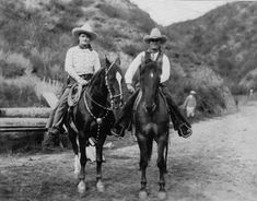 Tom Mix and friend
