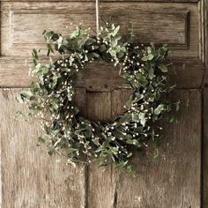 misletoe wreath