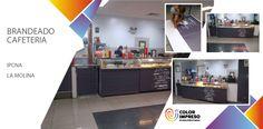 @colorimpresosac.com #brandeado cafeteria #ipcna la molina