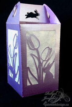 Easter Tulip Lantern-15 Minute Wonder