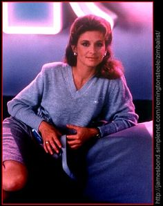 stephanie zimbalist Stephanie Zimbalist, Saved By The Bell, Pierce Brosnan, Private Investigator, Man Of Steel, Blue Eyes, The Man, Beautiful Women, Actresses