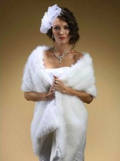 Furry, funky, and fun options that'll keep you warm on your winter wedding day   Offbeat Bride