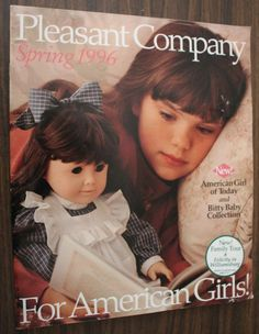 SPRING 1996 PLEASANT COMPANY CATALOG AMERICAN GIRL FEATURES SAMANTHA FELICITY