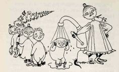 The secret message in Mymble's name – queer themes in Tove Jansson's life and work part 2 - Moomin Adult Coloring, Coloring Pages, Moomin Books, Moomin Valley, Tove Jansson, Weird Creatures, Sculpture, Little My, Children's Book Illustration