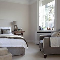 Grey-toned bedroom | Traditional bedrooms - 10 decorating ideas | housetohome.co.uk