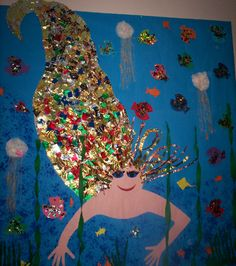 Mermaid classroom display photo - Photo gallery - SparkleBox