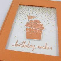 Birthday Wishes, Stempelsets: Build a Birthday, 2016 / 2017 & Cupcake Party…