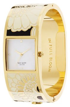 kate spade delacorte bangle watch (sorry, on a bit of a KS binge)
