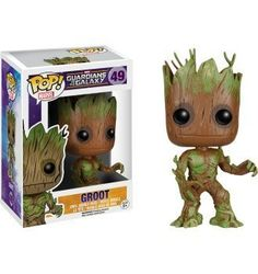 Extra Mossy Groot Pop! Vinyl 2015 Exclusive Funko Guardians of the Galaxy #49 - Bobble Head Figure @ niftywarehouse.com