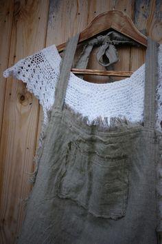 kiyoaki:    (vía Rustic Style Linen Apron | Knock Knock)